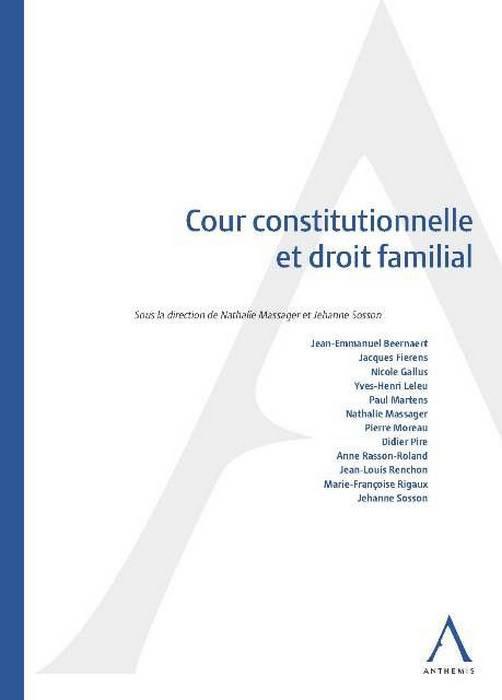 Cour constitutionnelle et droit familial