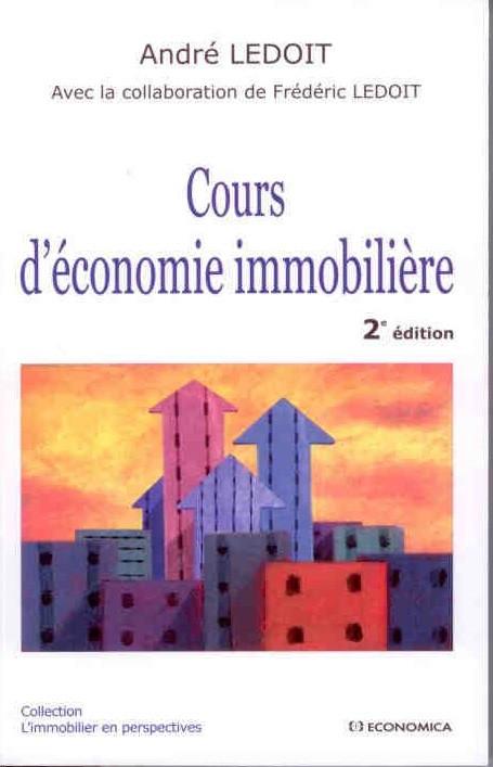 Cours d'économie immobilière