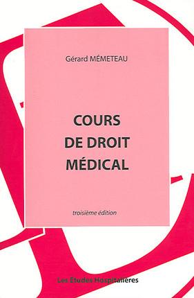 Cours de droit médical