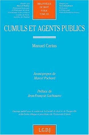 Cumuls et agents publics