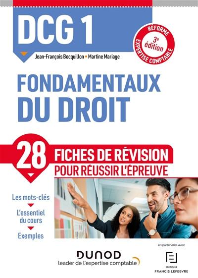 DCG 1 - Fondamentaux du droit 2021-2022