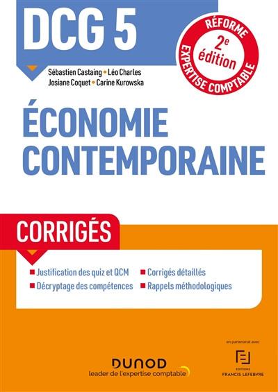 DCG 5 : économie contemporaine