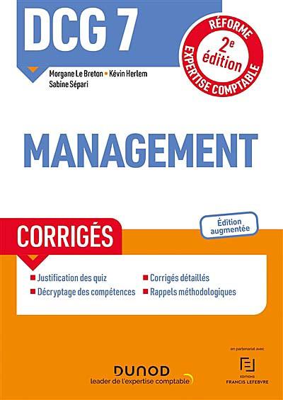 DCG 7 - Management 2021-2022