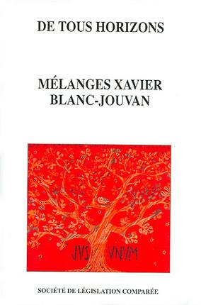 De tous horizons - Mélanges Xavier Blanc-Jouvan