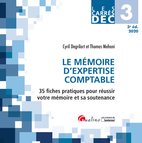 [EBOOK] DEC 3 - Le mémoire d'expertise comptable