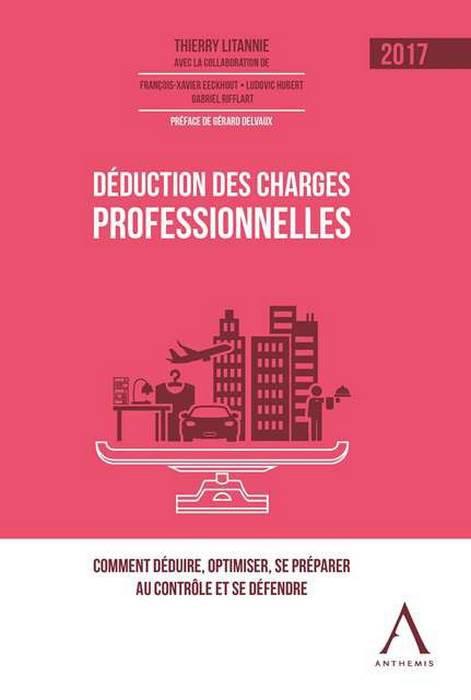 Déduction des charges professionnelles - 2017