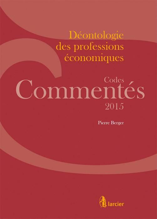 Déontologie des professions économiques 2015