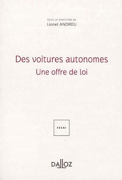 Des voitures autonomes