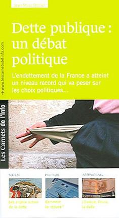 Dette publique : un débat politique