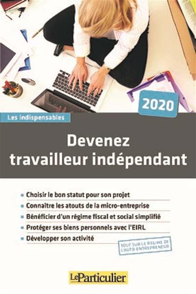 Devenez travailleur indépendant 2020
