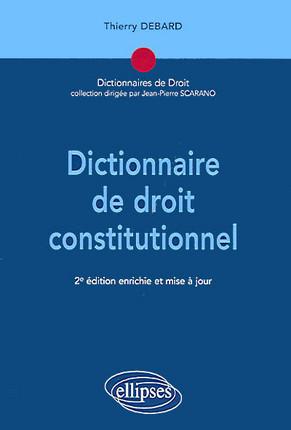 Dictionnaire de droit constitutionnel
