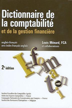 Dictionnaire de la comptabilité
