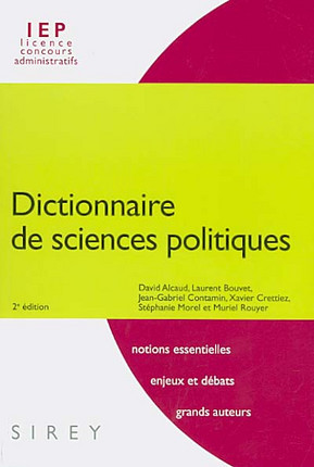 Dictionnaire de sciences politiques
