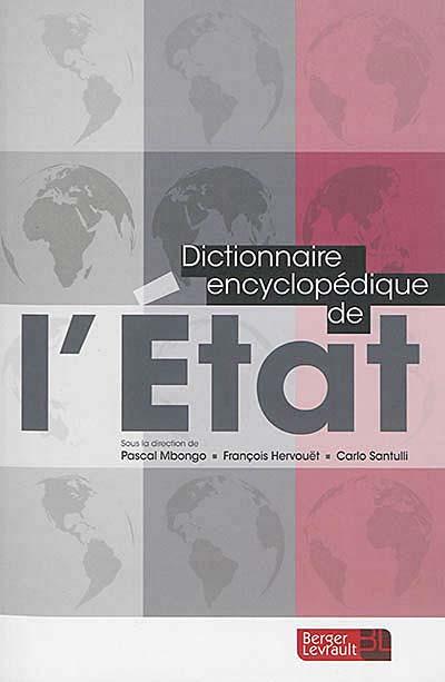 Dictionnaire encyclopédique de l'Etat
