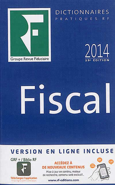 Dictionnaire fiscal 2014