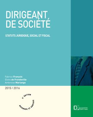 Dirigeant de société 2015-2016