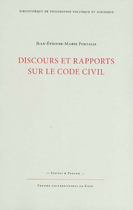 Discours et rapports sur le Code civil