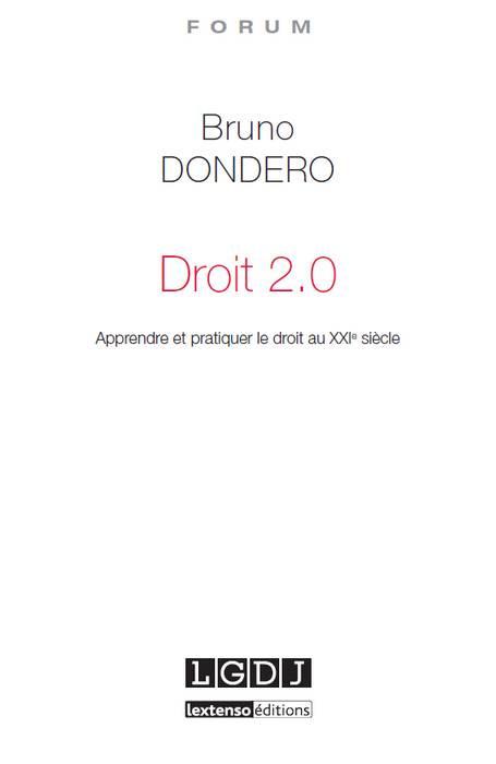 [EBOOK] Droit 2.0
