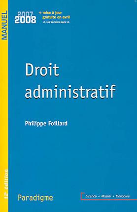 Droit administratif 2007-2008