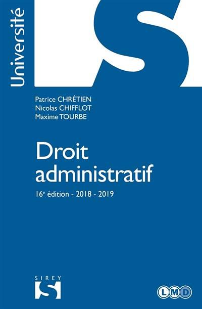 Droit administratif 2018-2019