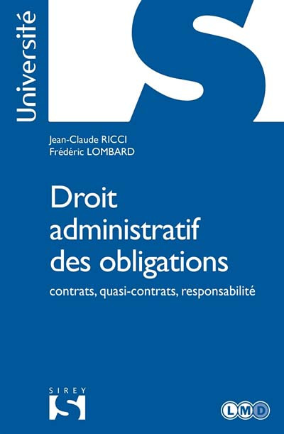 Droit administratif des obligations