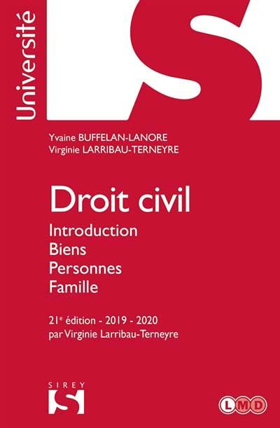 Droit civil 2019-2020