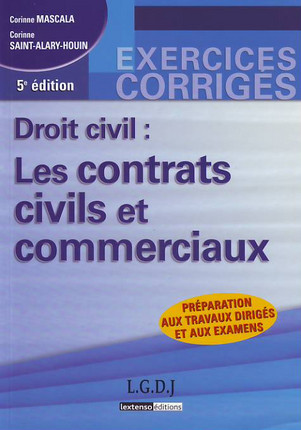 Droit civil : Les contrats civils et commerciaux