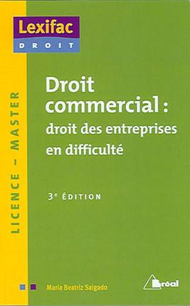 Droit commercial : droit des entreprises en difficulté