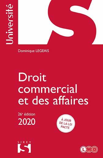 Droit commercial et des affaires 2020