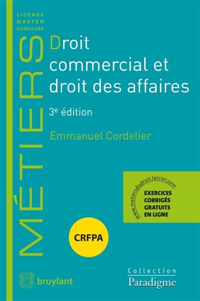Droit commercial et droit des affaires