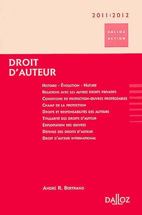 Droit d'auteur 2011-2012