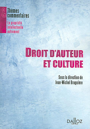 Droit d'auteur et culture