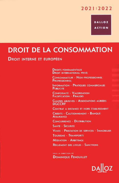 Droit de la consommation 2021-2022