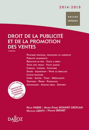 Droit de la publicité et de la promotion des ventes 2014-2015
