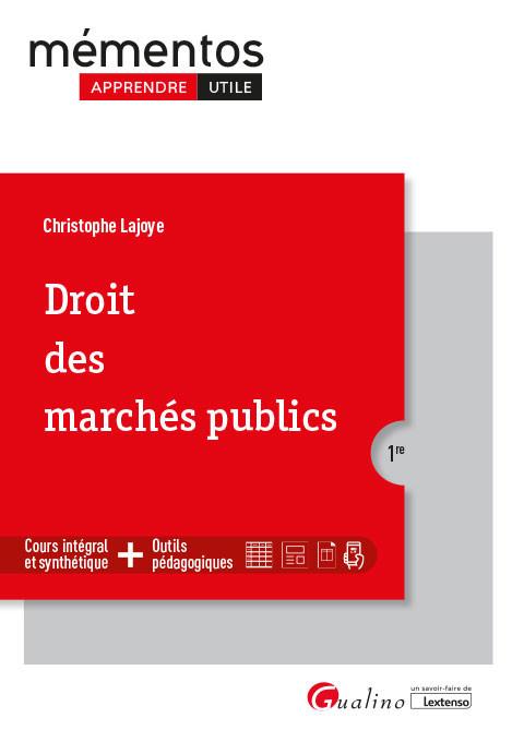 [EBOOK] Droit des marchés publics