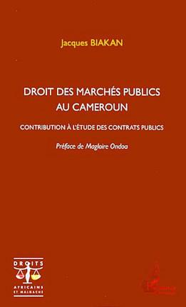 Droit des marchés publics au Cameroun
