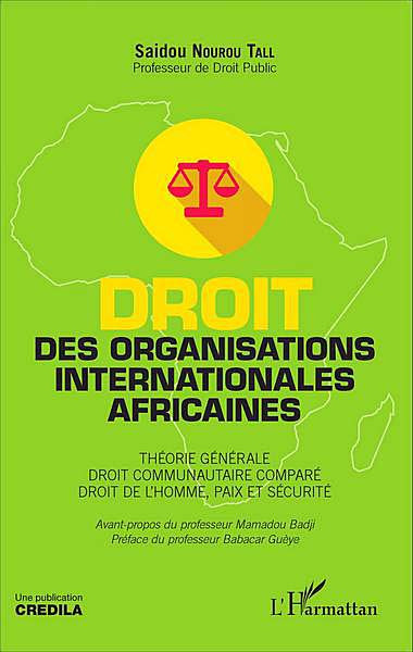 Droit des organisations internationales africaines
