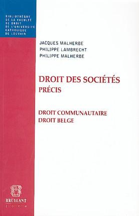 Droit des sociétés précis