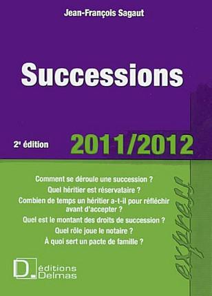 Droit des successions 2011-2012