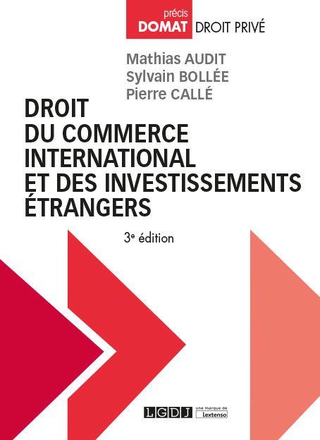 Droit du commerce international et des investissements étrangers
