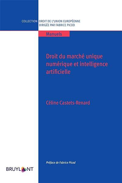 Droit du marché unique numérique et intelligence artificielle