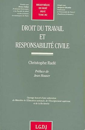 Droit du travail et responsabilité civile