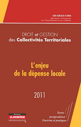 Droit et gestion des Collectivités Territoriales 2011