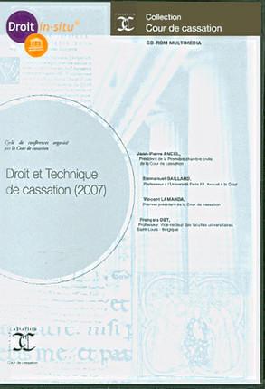 Droit et technique de cassation 2007 (coffret 1 CD-Rom)