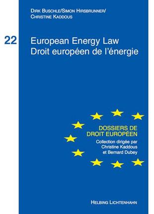 European Energy LawDroit Européen de l'énergie