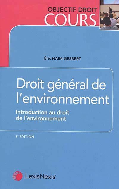 Droit général de l'environnement