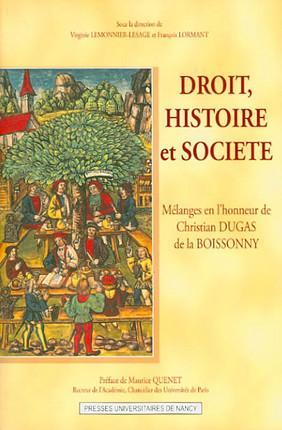 Droit, histoire et société