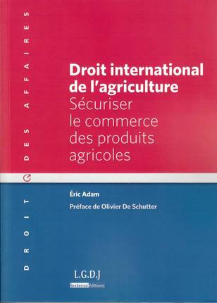 Droit international de l'agriculture