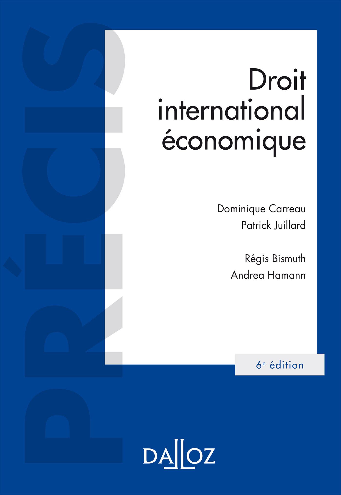 Droit international économique