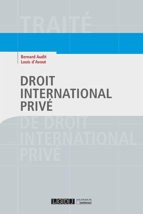 droit international priv u00e9 - audit